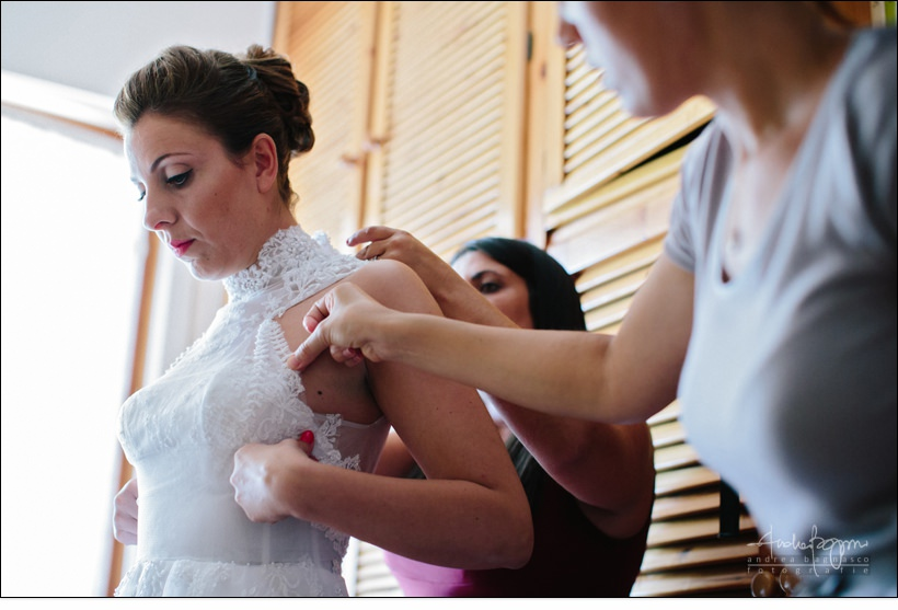 dettaglio abito sposa matrimonio savona
