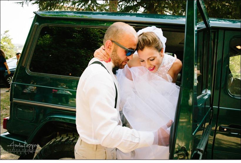 uscita sposa matrimonio mallare