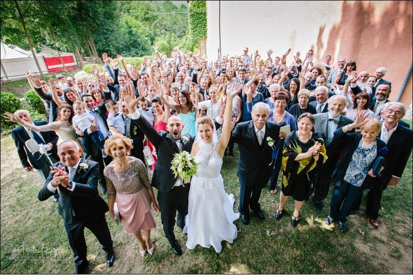 foto gruppo matrimonio savona