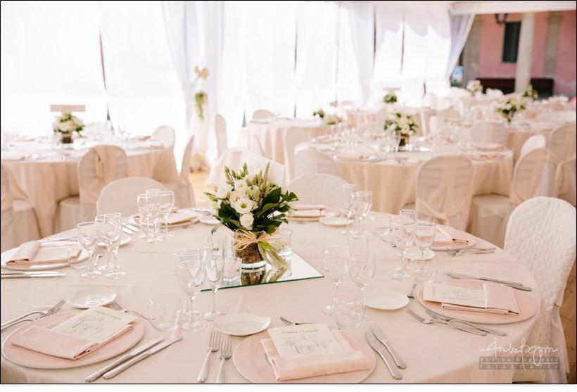 centro tavola matrimonio santuario vicoforte