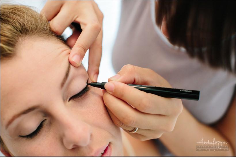 dettagli make up preparazione sposa