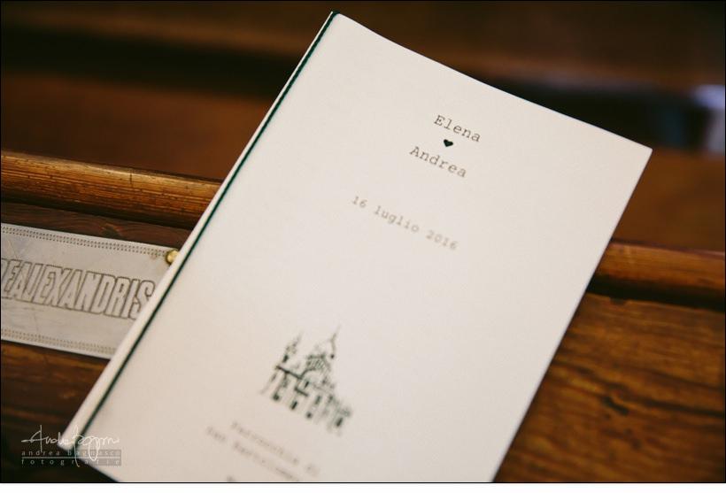 libretto chiesa matrimonio
