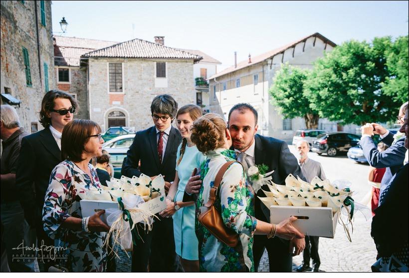 sposo reportage matrimonio invitati