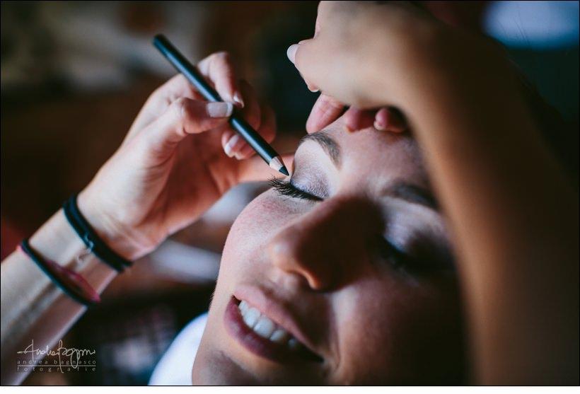 makeup matrimonio sposa
