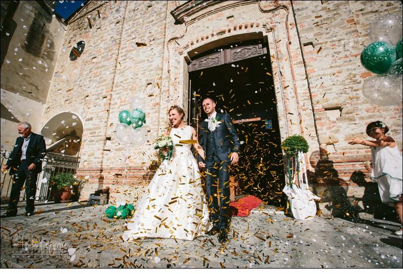 uscita sposi matrimonio monferrato
