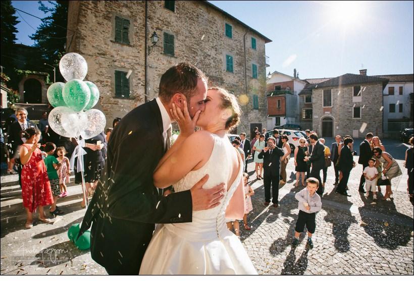 bacio sposi matrimonio Melazzo