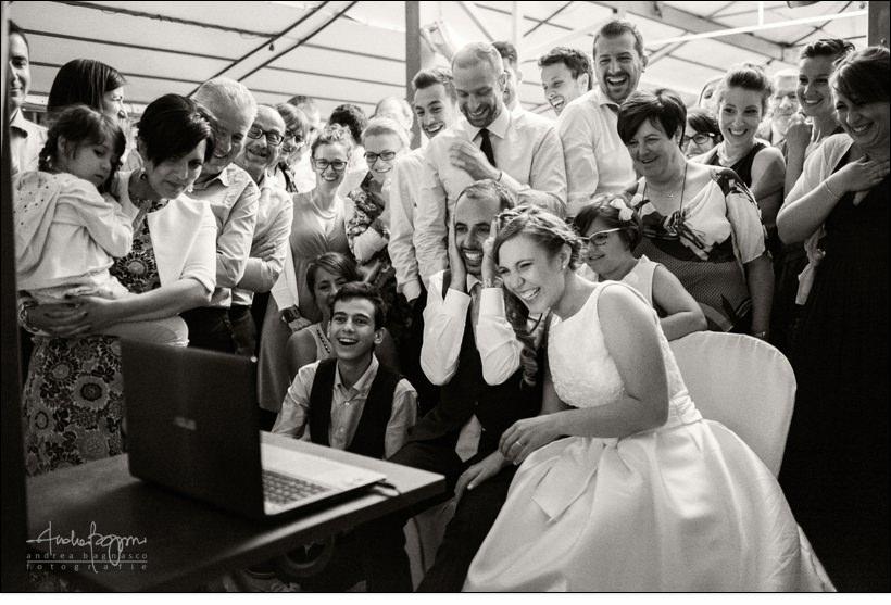 filmato sposi matrimonio