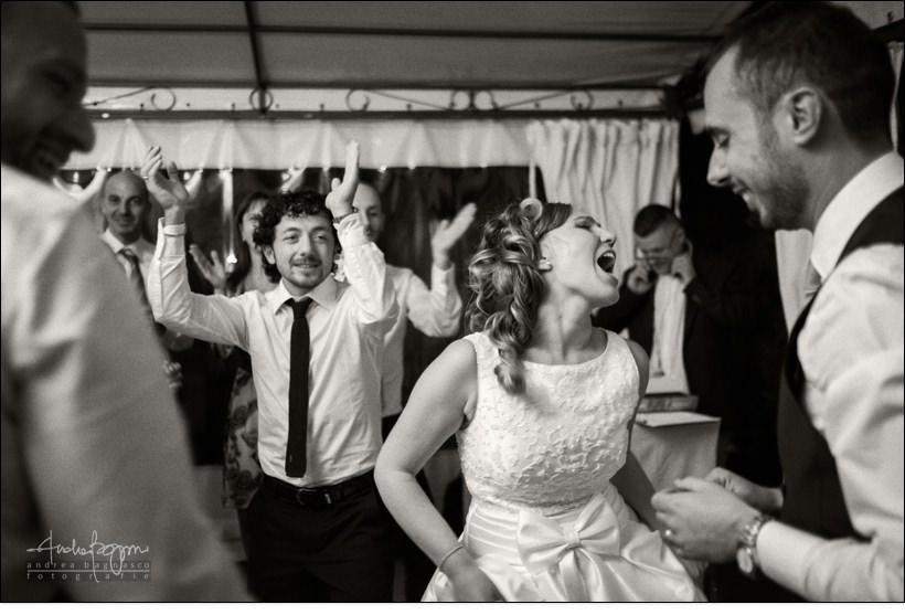 festa matrimonio sposa