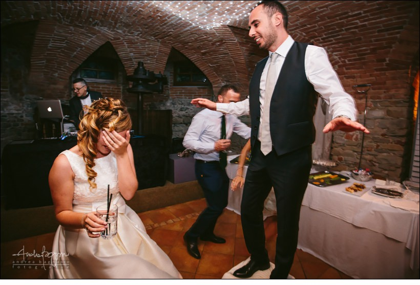 festa sposi matrimonio dj set