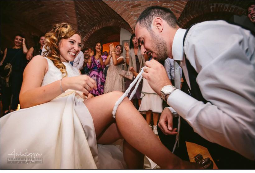 giarrettiera sposo denti matrimonio