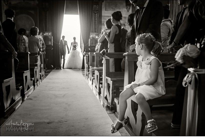 ingresso sposa matrimonio santa margherita