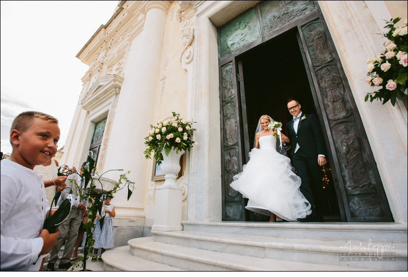 uscita sposi santa margherita