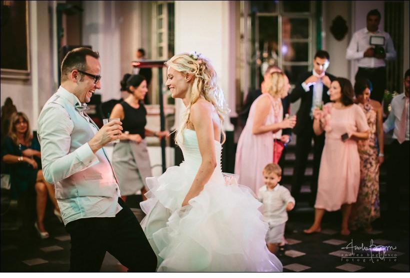 first dance villa durazzo wedding