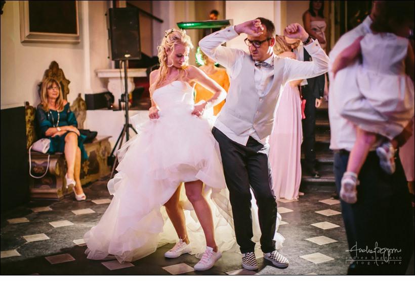 primo ballo matrimonio a villa durazzo