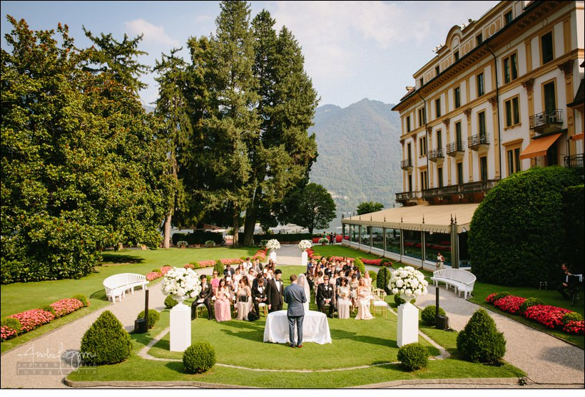 luxury lake como wedding