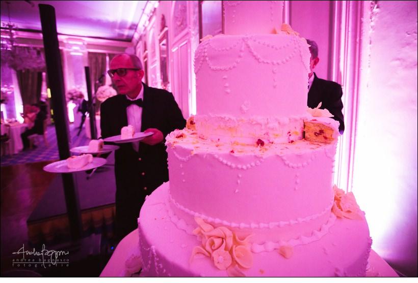 torta nuziale villa deste