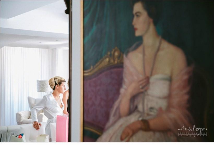 preparazione sposa fotografo genova