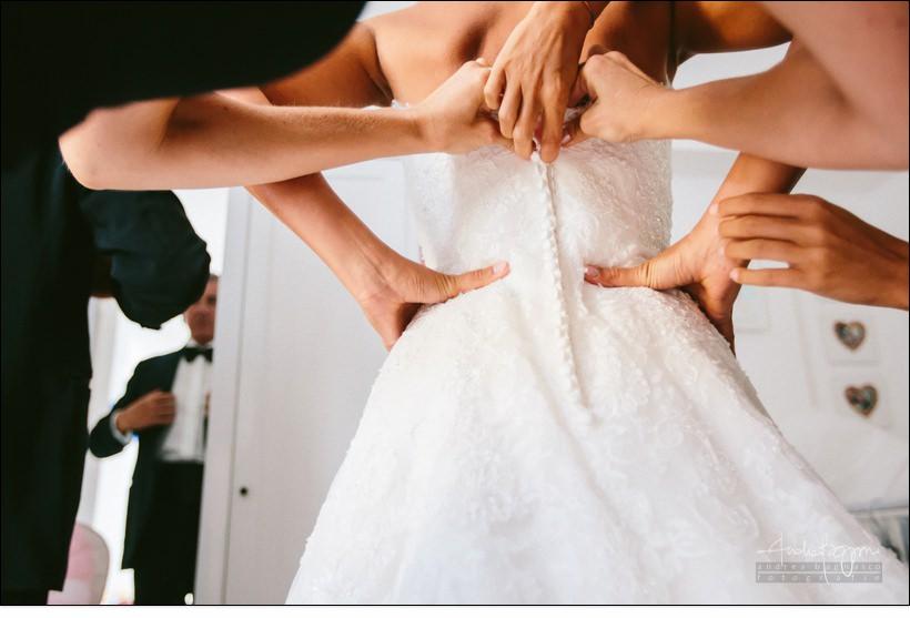 abito matrimonio Genova