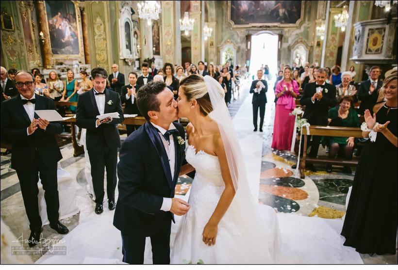 bacio sposi matrimonio Genova