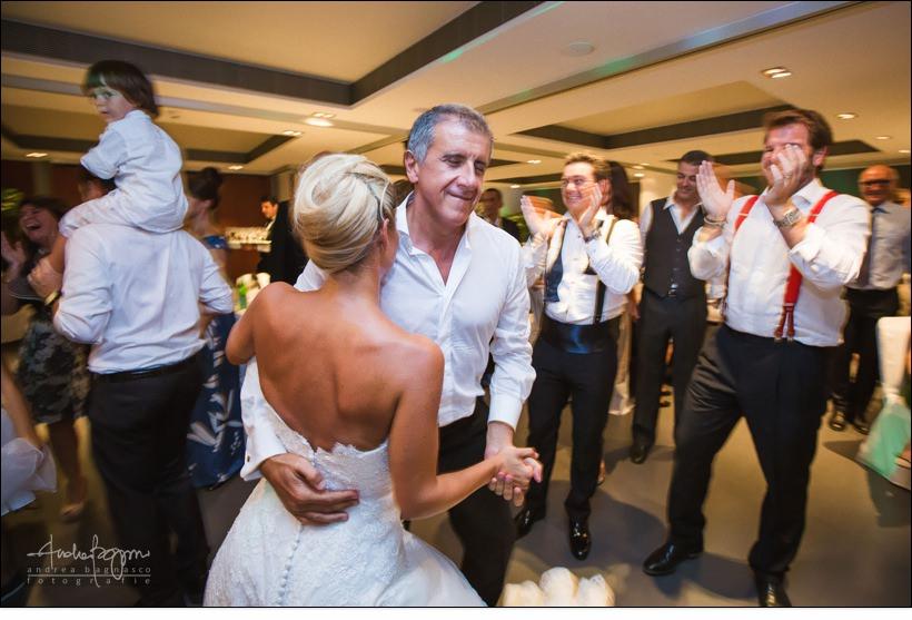 sposa con padre balli matrimonio