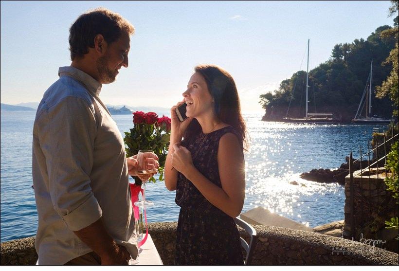emozioni fidanzamento Portofino