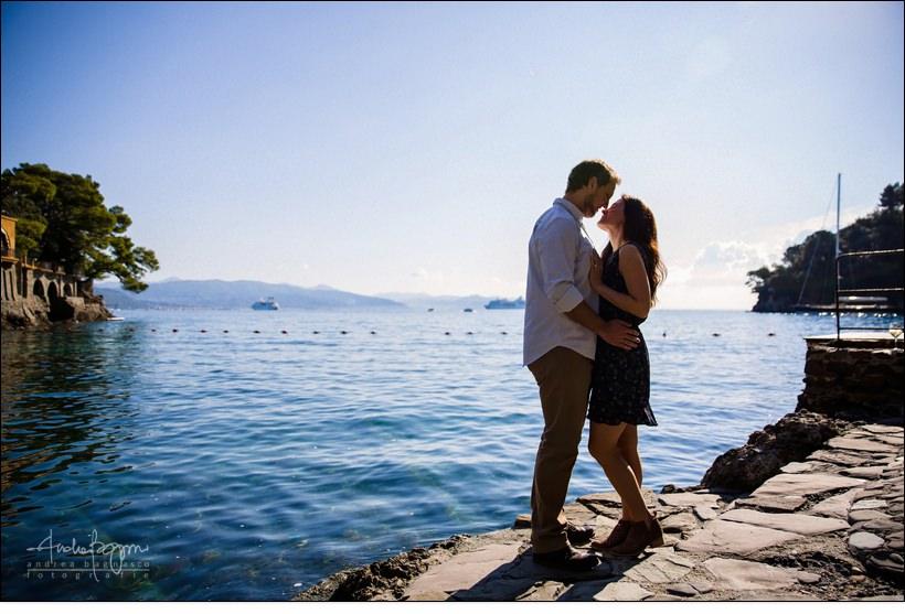lovers in Portofino