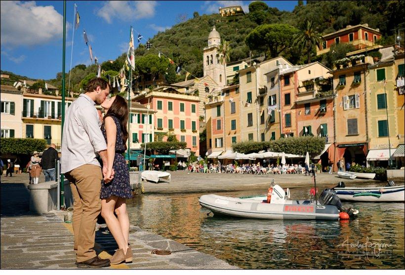 fidanzati a Portofino