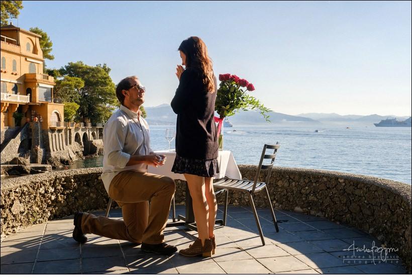 proposal engagement Portofino