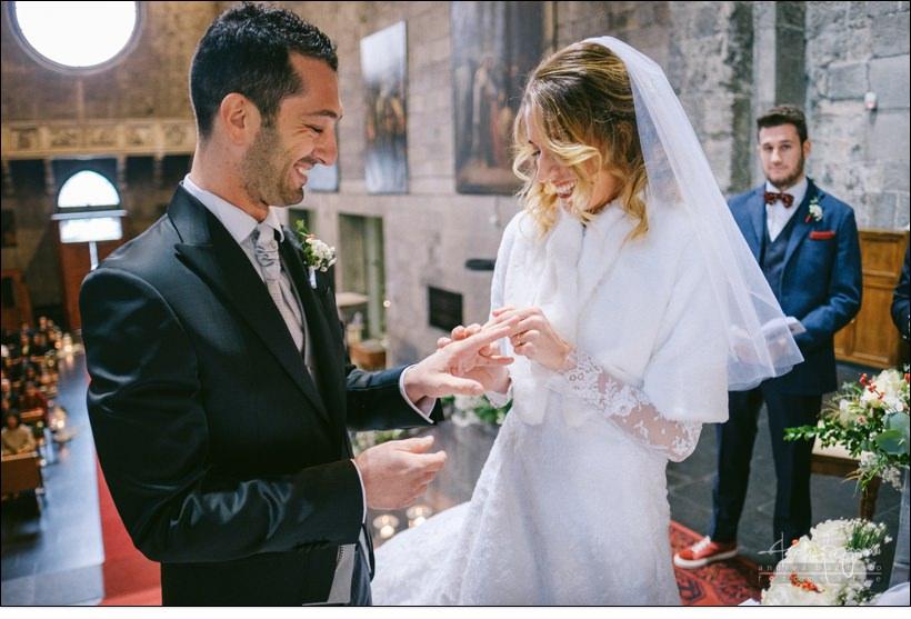 scambio fedi matrimonio genova