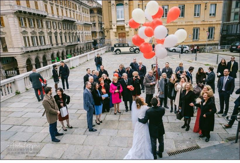 uscita sposi chiesa santo stefano