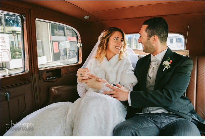 sposi rolls royce matrimonio