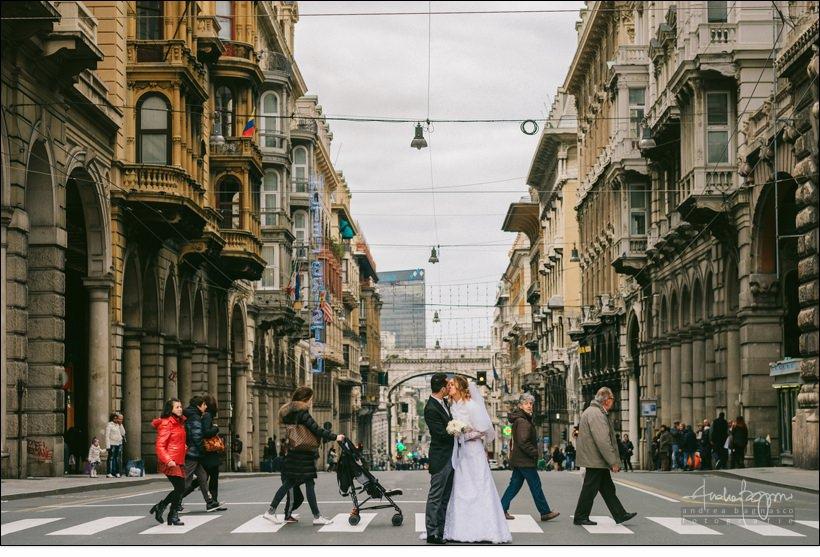 matrimonio genova via xx settembre
