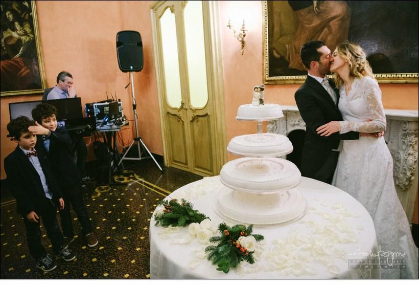 taglio torta matrimonio palazzo della meridiana