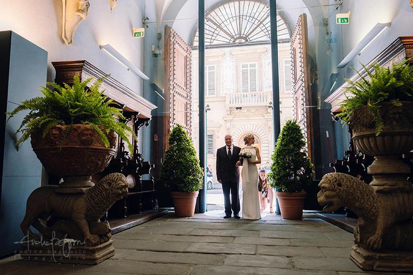 ingresso sposa matrimonio firenze