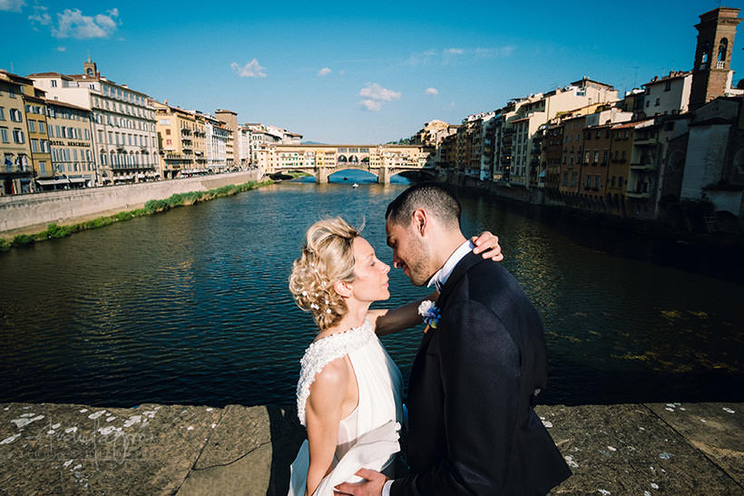 firenze wedding ponte vecchio