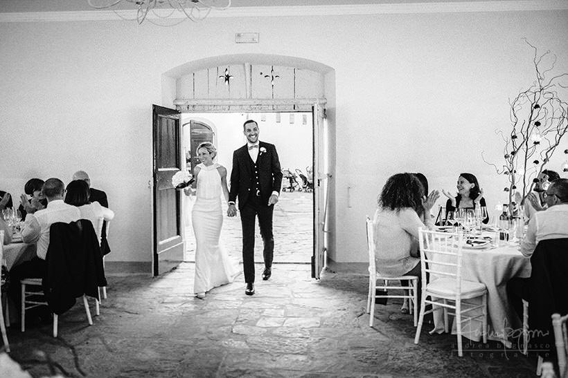 cena matrimonio castello sant'ellero firenze