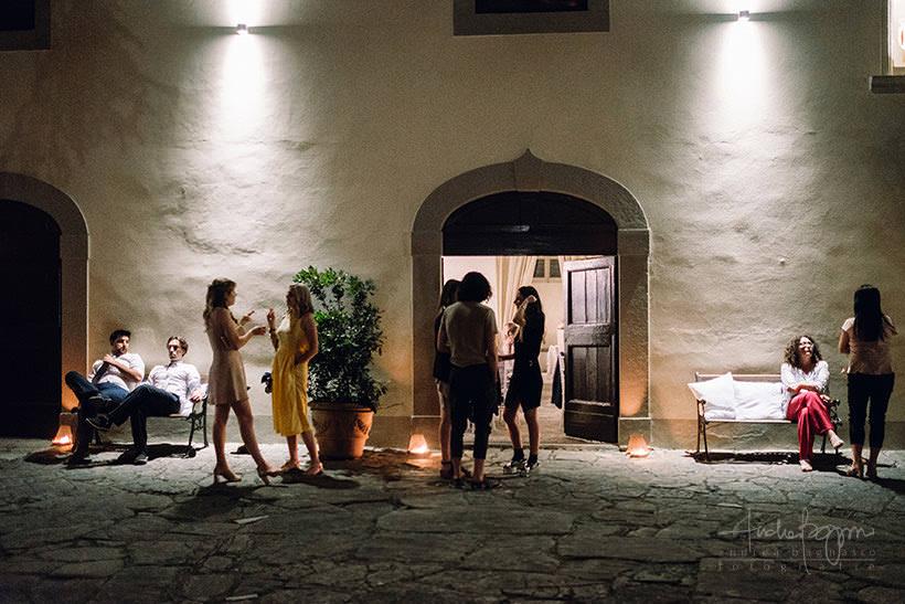 ospiti matrimonio castello sant'ellero