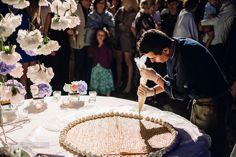 torta matrimonio castello sant'ellero