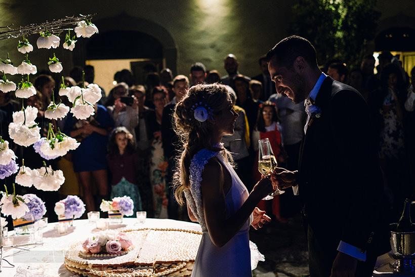 brindisi sposi matrimonio castello sant'ellero