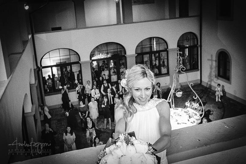 lancio bouquet matrimonio sant'ellero