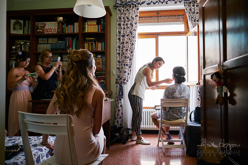 preparazione sposa matrimonio genova