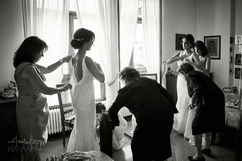 vestito sposa genova