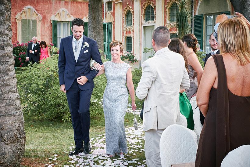 ingresso sposo matrimonio villa faraggiana