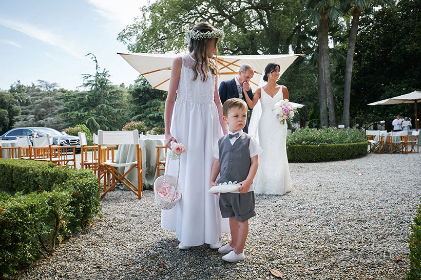 page boy flower girl italy wedding