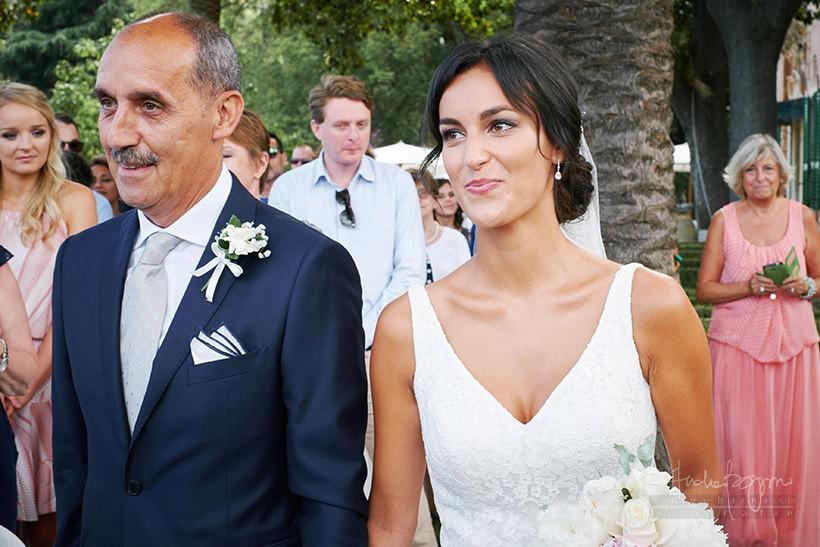 arrivo sposa matrimonio villa faraggiana