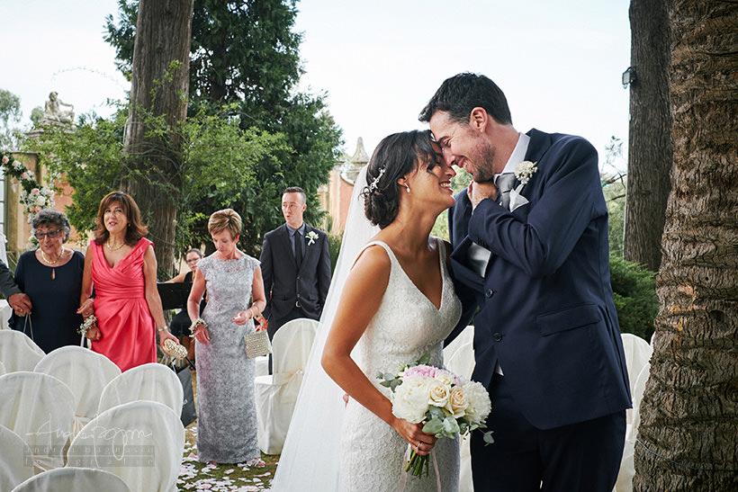 sposi matrimonio villa faraggiana