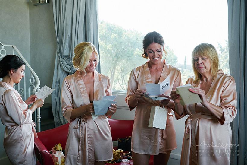 bridesmaids Villa la Vedetta