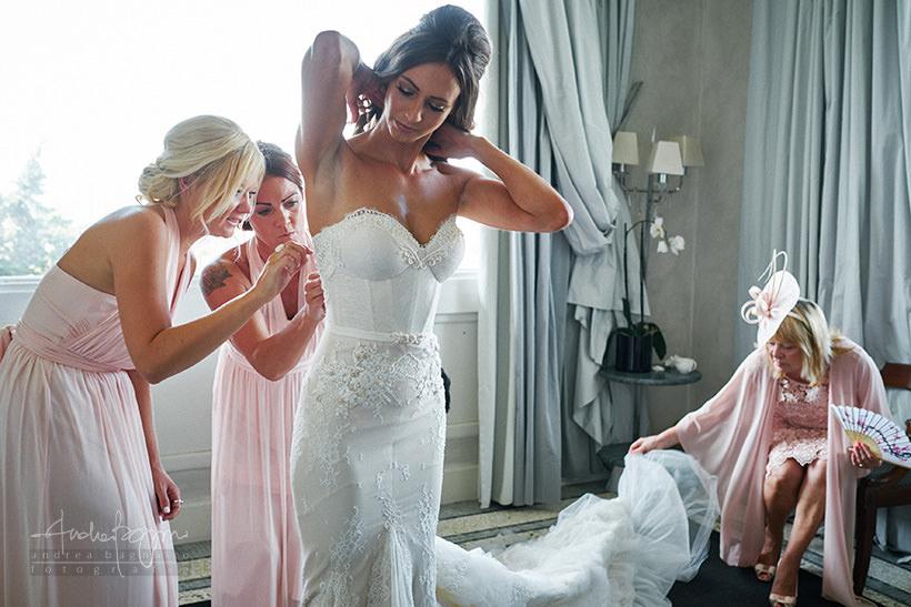 preparazione sposa villa la vedetta