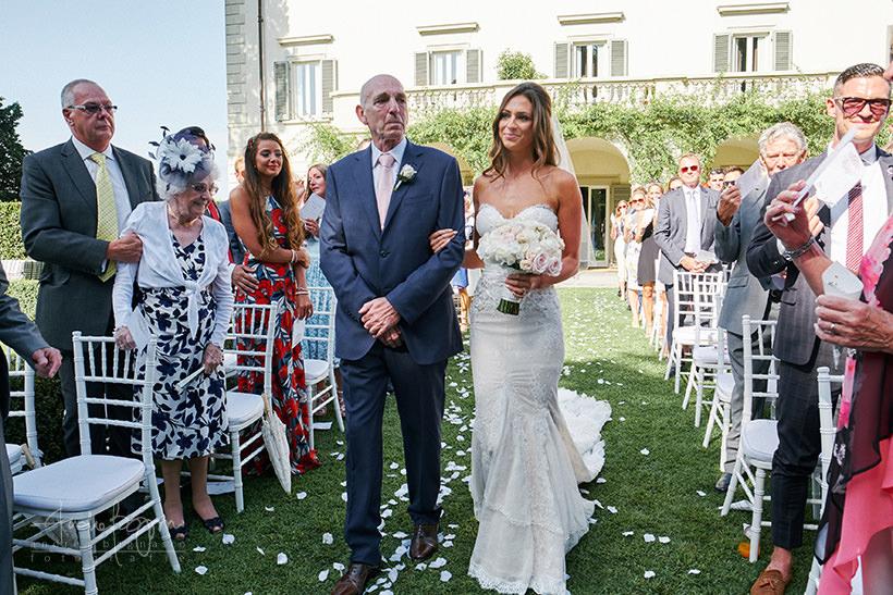 ingresso sposa villa la vedetta