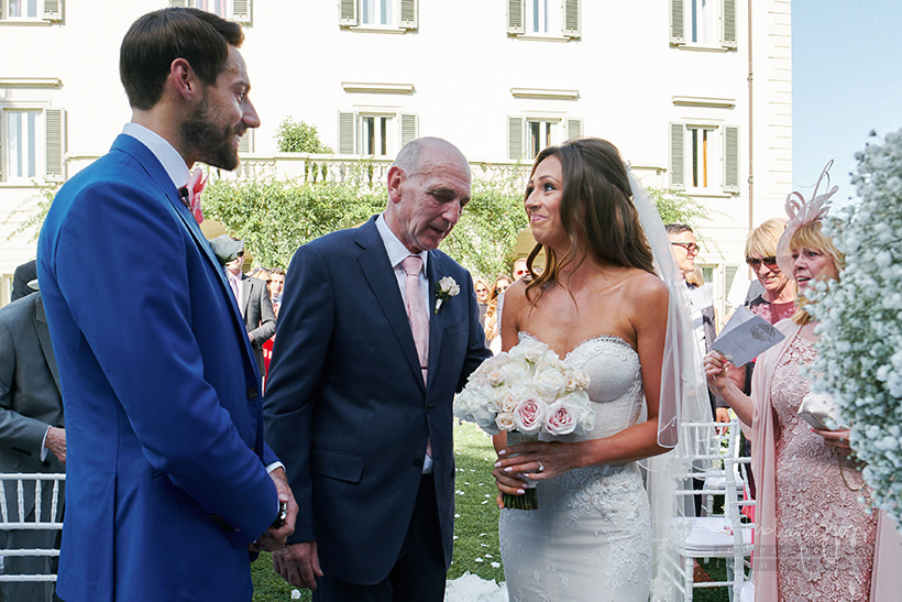 bride groom villa la vedetta